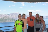 Crater Lake, August 2012.