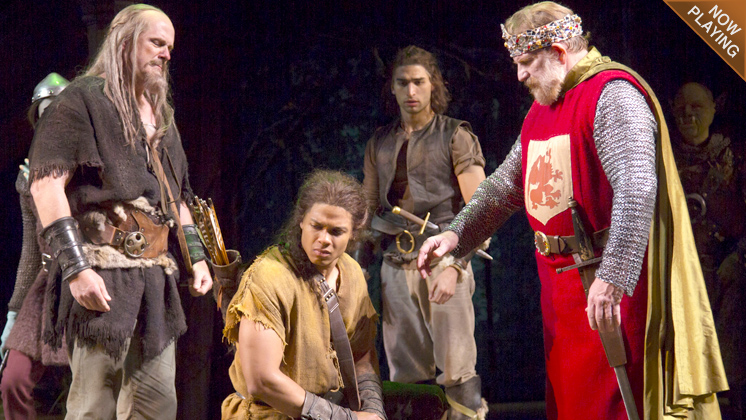 OSF's production of Cymbeline on the Elizabethan Stage.