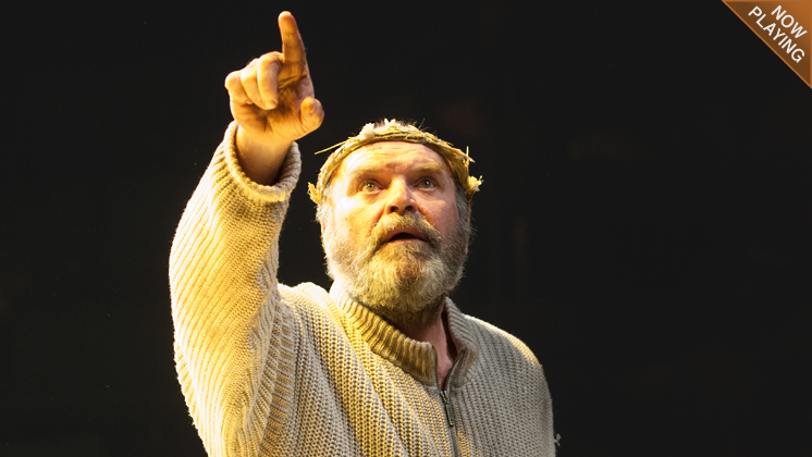 Jack Willis as King Lear