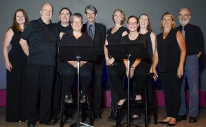 The cast of MMSC's Readers Theatre Weekend shows - July 2015